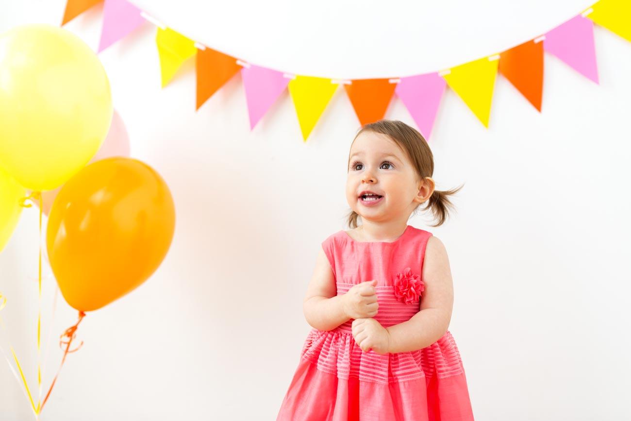 Une jolie déco pour l'anniversaire d'une petite fille